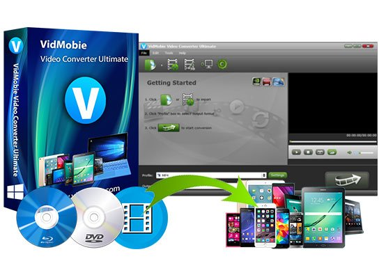 VidMobie Video Converter Ultimate Crack