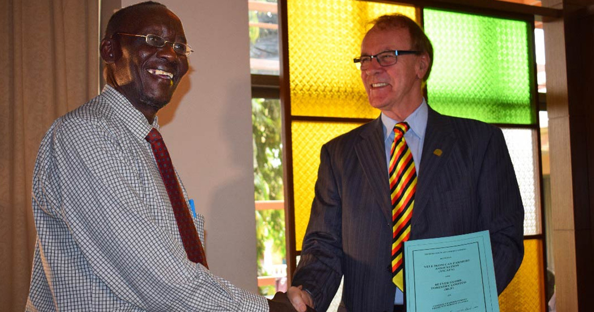 Avsiktsförklaring påskriven i Uganda