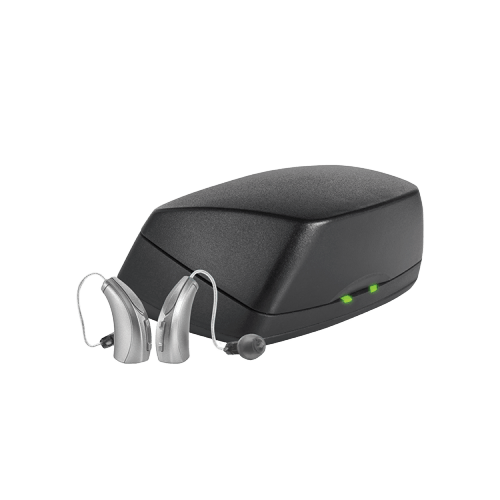 Rechargeable RIC hearing aids