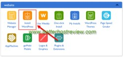 install wordpress website in cpanel on vps server