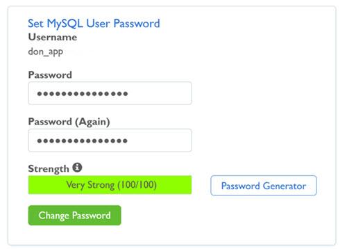 How to change your WordPress database password?