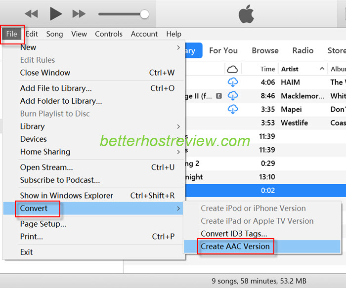 Convert MP3 to iPhone Ringtone – Better Host Review