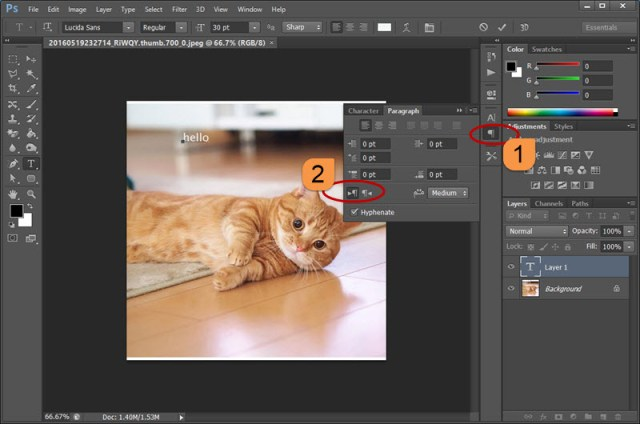 Cursor moving to left using Type Tool in Photoshop – Better