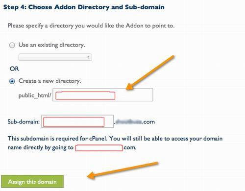 add extra domain to bluehost