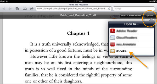 How To Pdf Files From Website To Ipad