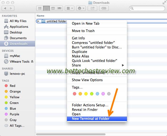 open finder command line mac