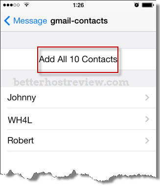 Transfer VCF Contacts to iPhone – Better Host Review