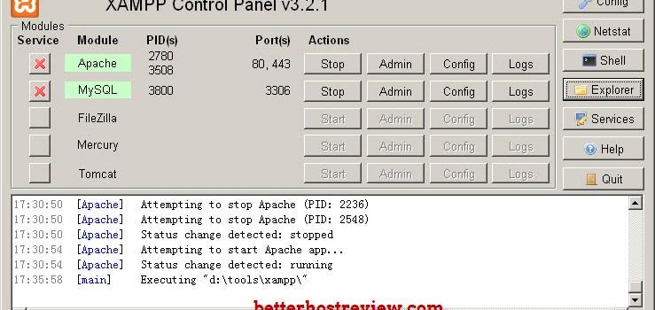 XAMPP server local network access forbidden