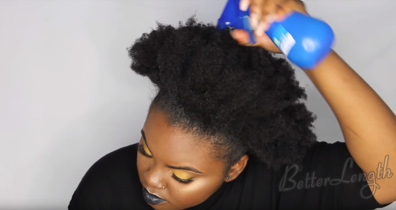 How To Do A Rihanna Inspired Loose High Ponytail On Short
