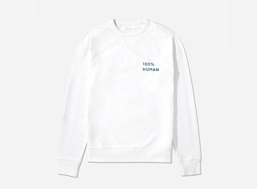 100% Human ACLU Sweatshirt