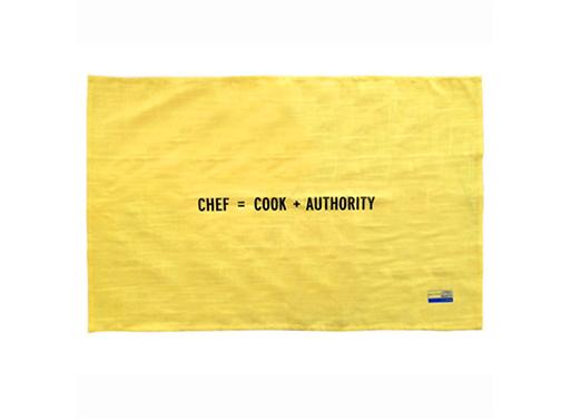 Kitchen Towel Chef by Craig Damrauer
