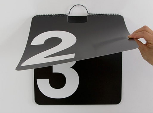 Perpetual Wall Calendar By Massimo Vignelli Accessories Better