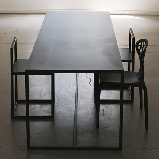 Supermetal Table by Chiara Ferrari
