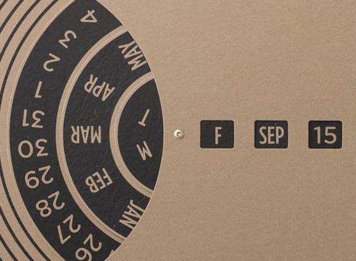 TAIT Design Co. Perpetual Wall Calendar