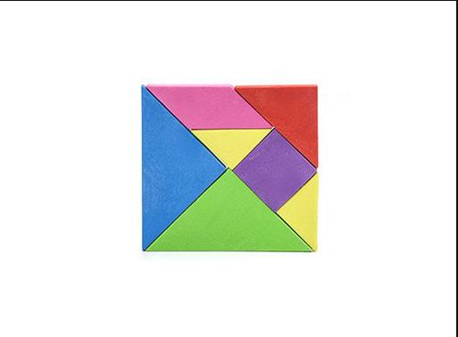 Tangram Erasers