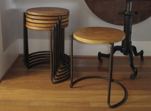 Stackable Stool Table By Atelier De Troupe Furnishings