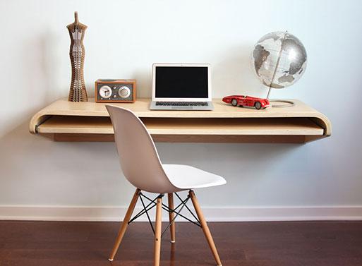 Minimal Float Wall Desk Desk Work Better Living