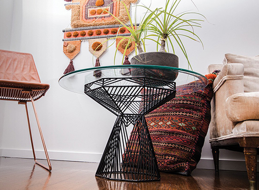 Switch Stool and Table