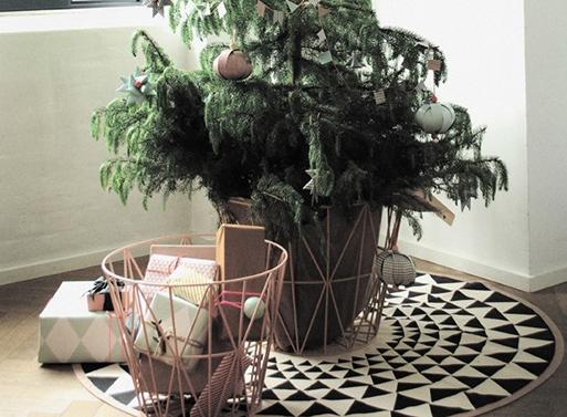 Ferm Living Tree Blankets