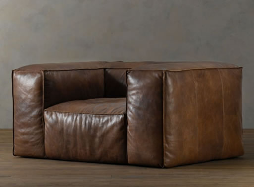 Fulham Leather Seating from Restoration Hardware