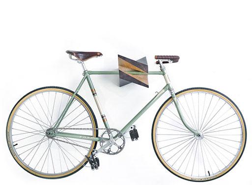 Iceberg Wood Bike Hanger