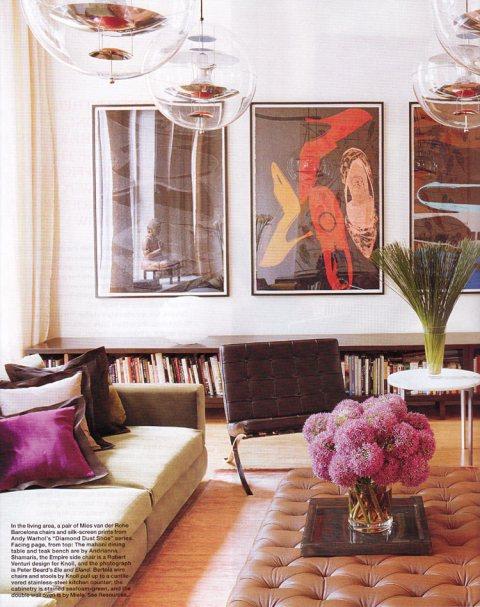 Ranjana and Naeem Khan's Soho loft