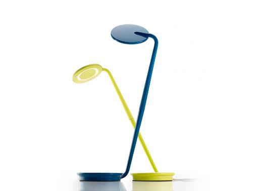 Pixo LED Lamp yellow blue