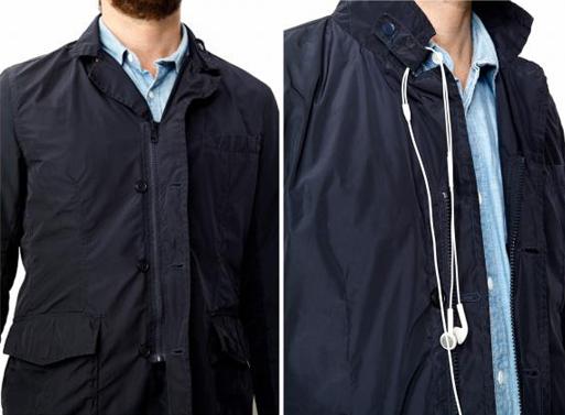 Travelteq Travel Jacket zipper buttons