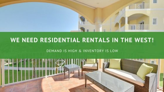Residential Rentals Are Scarce In The West | Bahamas Real Estate