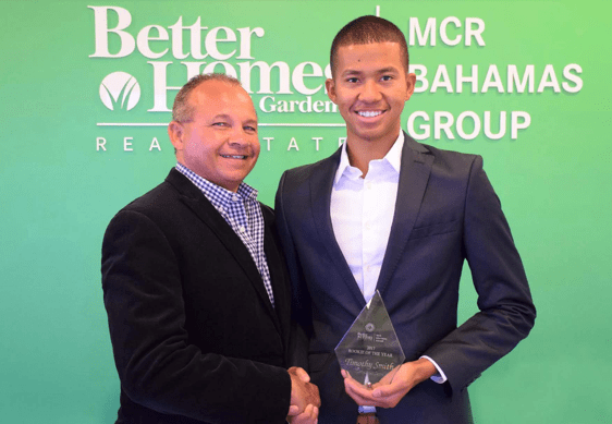 Timothy Smith, 24, Named Top Rookie Producer at BHGRE MCR Bahamas Group | Bahamas Real Estate