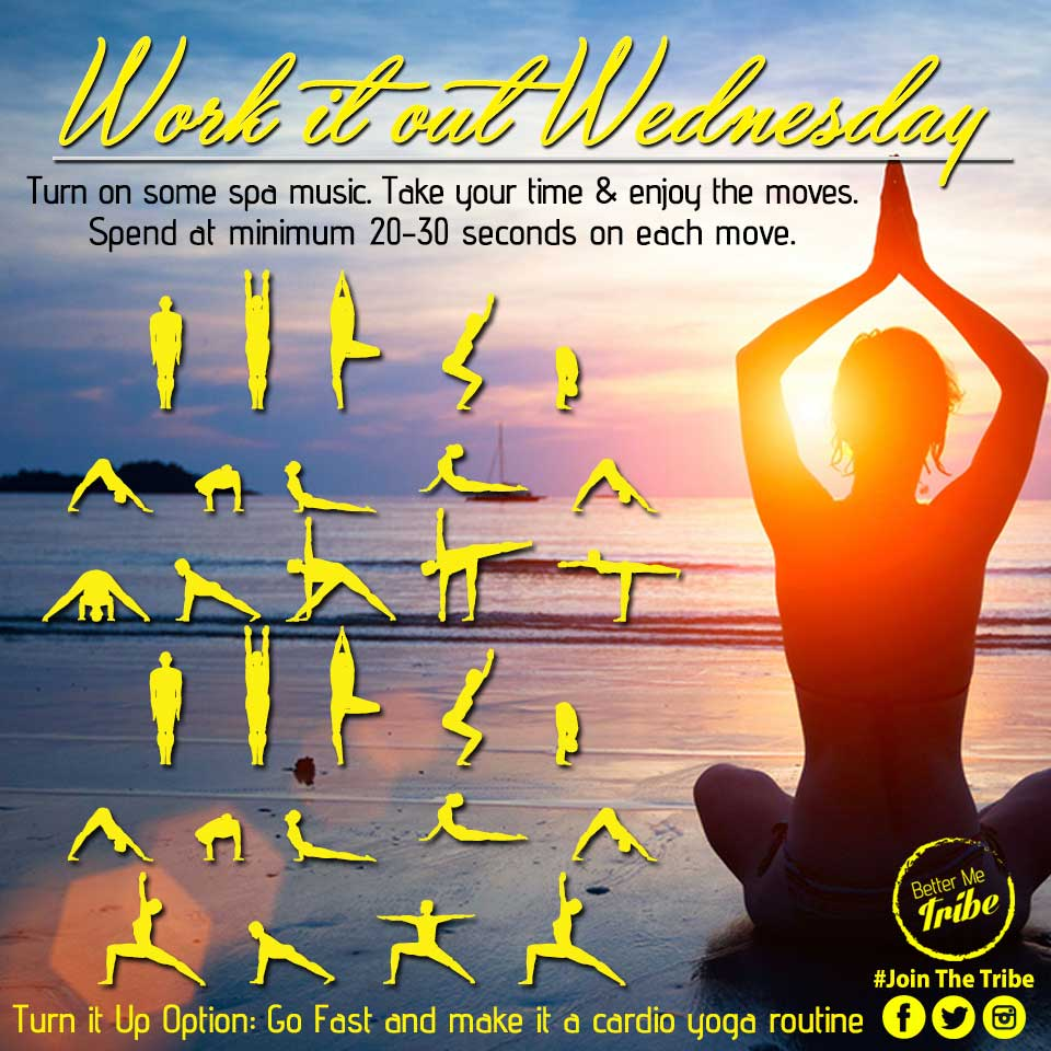 Work it Out Wednesday- Week 4