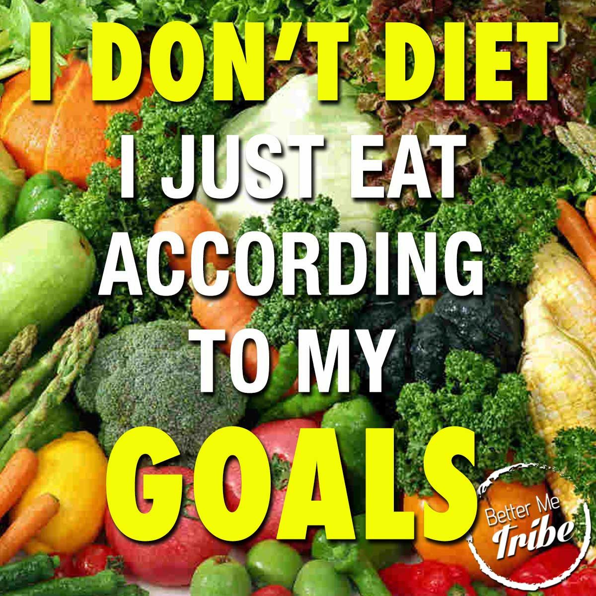 Eat According to Your Goals