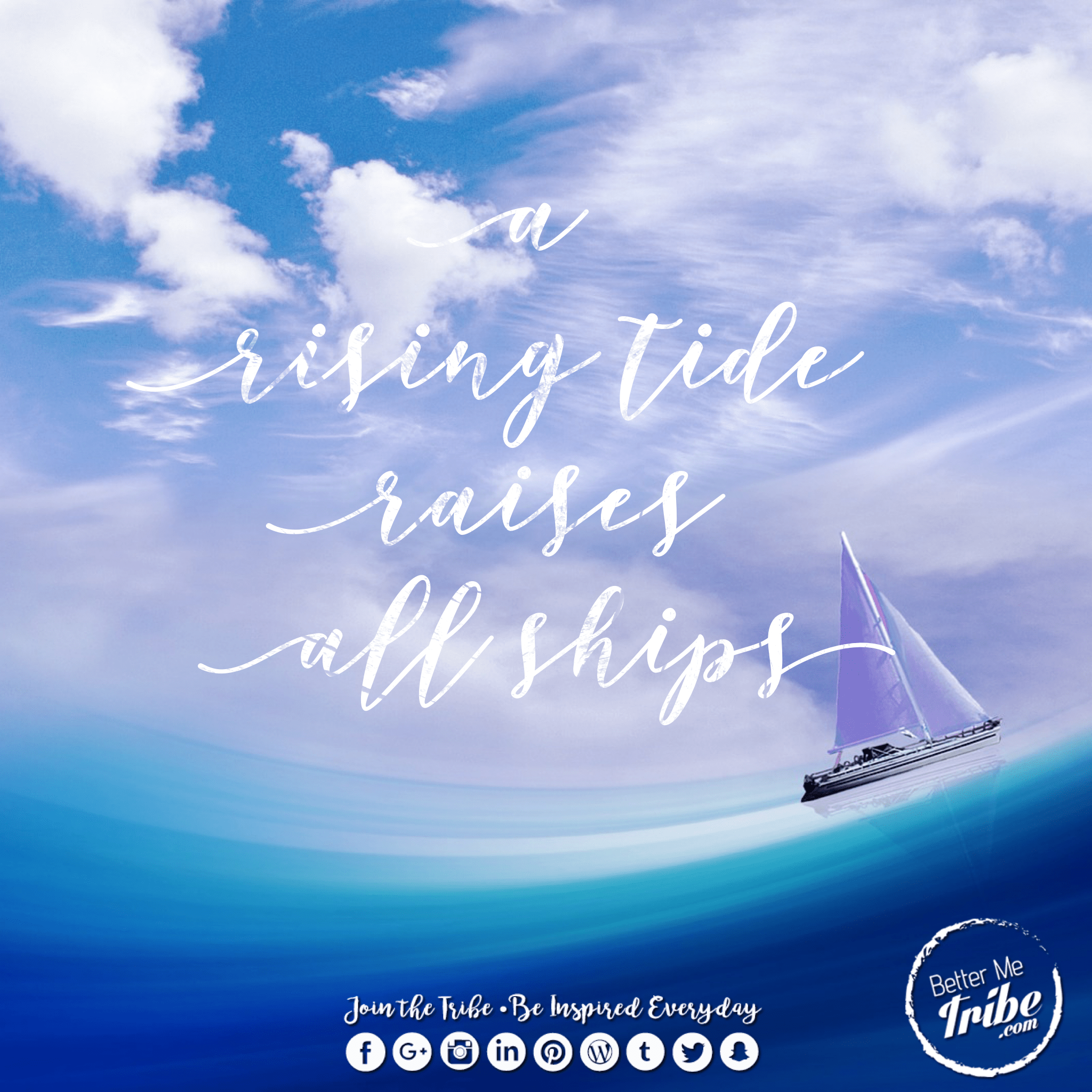 Rising tide raises all ships