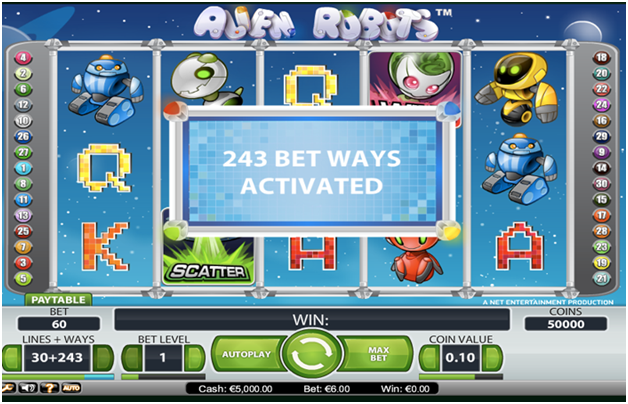 243 Ways Online Slots at mobile casinos