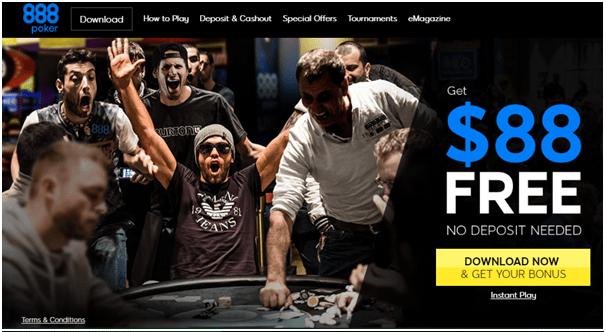 888 Poker CAD