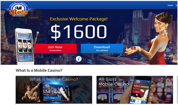 All Slots Casino Canada Mobile