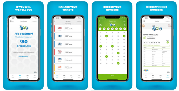 Buy Lotto tickets now with BCLC app