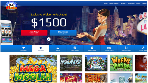 All slots mobile casino download