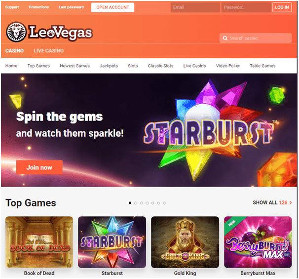 Leo Vegas Casino CAD