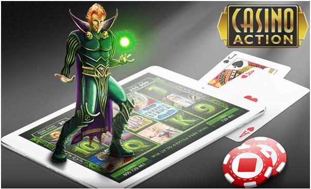 Casino Action Canada- Mobile Casino