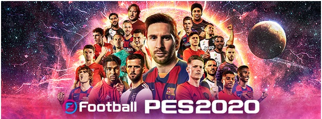 Football PES 2020 App to play on your mobile