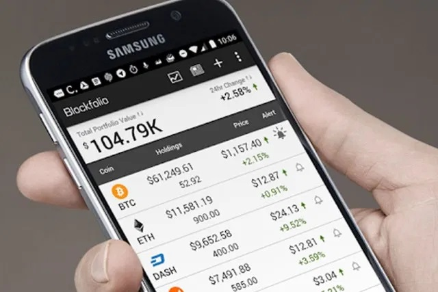 Mobile Cryptocurrency
