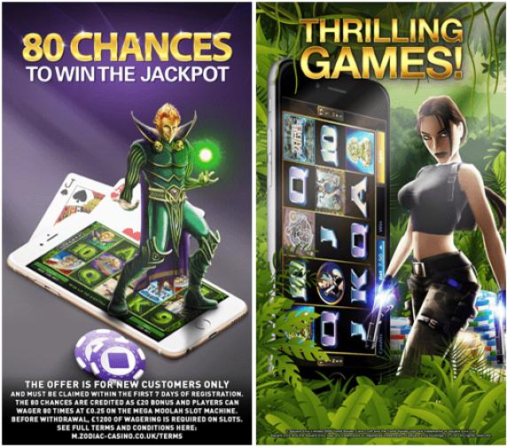 Mobile Casino Zodiac App