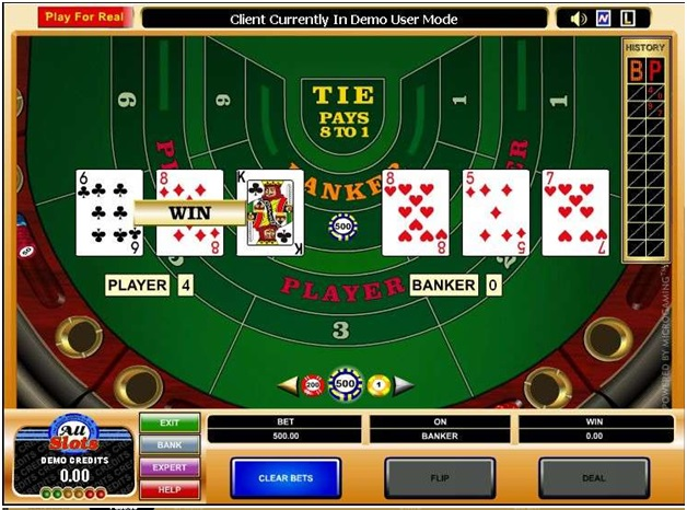 Platinum Play mobile casino Canada- Table Games- Highlimit Baccarat