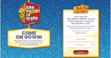 Price is Right Scratchie in Canada to Win $15000