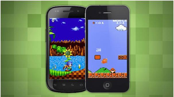Retro games on iphone