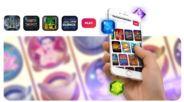 Cell phone games at Spin Casino