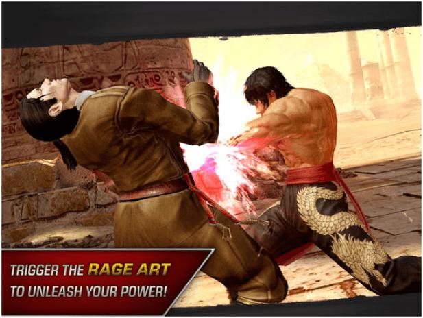 Tekken game app features