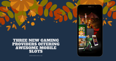 Three new gaming providers offering awesome mobile slots