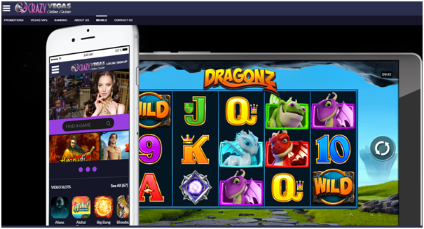 crazy vegas casino mobile